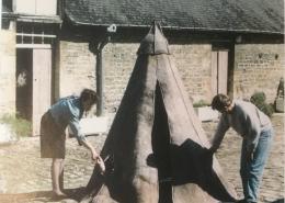 Expositie in Musée du Feutre in Mouzon, Frankrijk
