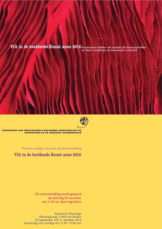 Vilt in de beeldende kunst, Roden, 2012