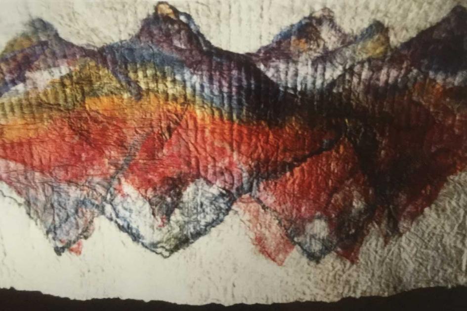 Zijdepapier, particuliere collectie