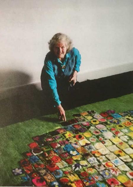 Mille Fleur Carpet, 1999