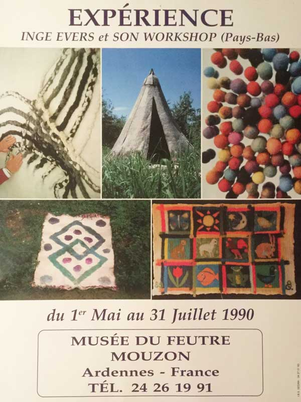 Musée du Feutre, Mouzon, Frankrijk